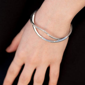 Paparazzi Tropicana Temptress - Silver Bracelet - Be Adored Jewelry