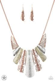 Be Adored Jewelry Untamed Multi Paparazzi Necklace