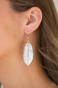 Paparazzi Accessories We GATHERER Together - Silver Earring - Be Adored Jewelry