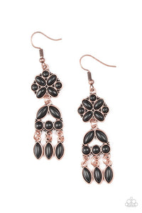 Paparazzi Accessories Which Way West - Copper Earring - Be Adored Jewelry