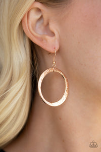 Paparazzi Accessories Wildly Wild - Rose Gold Earring - Be Adored Jewelry