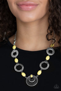 Zen Trends - Paparazzi Yellow Necklace - Be Adored Jewelry