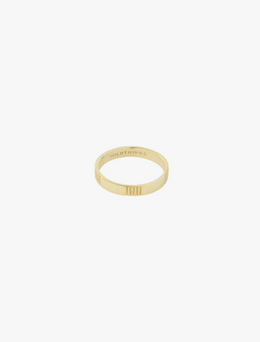 wildthings collectables • five wayes ring gold