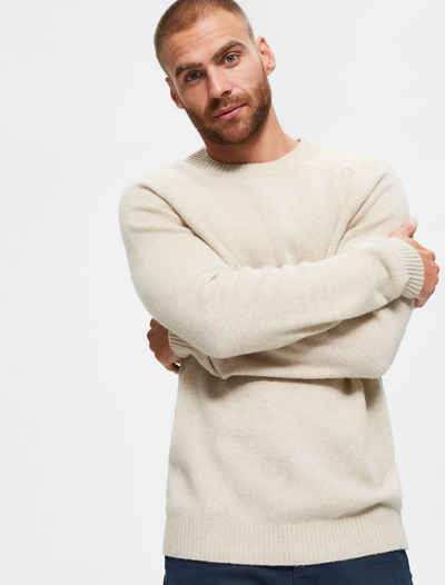 selected homme • wollpullover