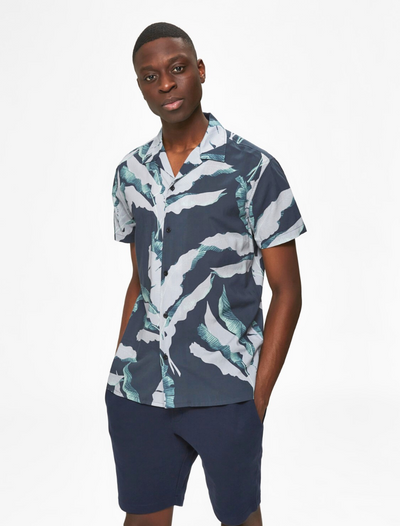 selected homme • hawaii hemd