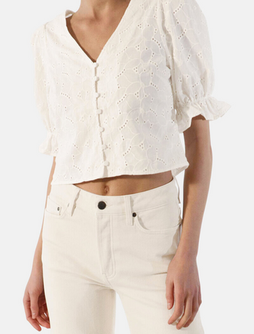 twist&tango • filigrane cropped bluse