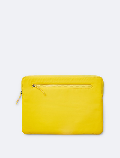 "rains • laptop cover 15"" • yellow"