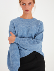 ichi • cropped wollpullover