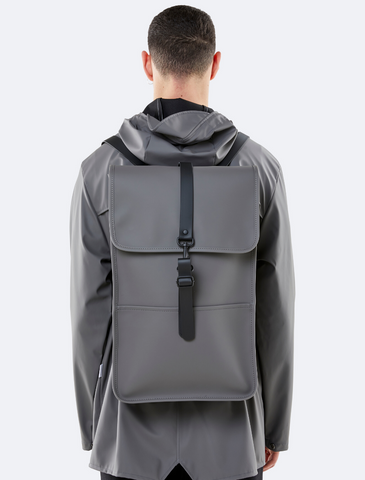 rains • backpack • charcoal matte