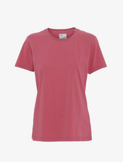 colorful standard • t-shirt • raspberry pink