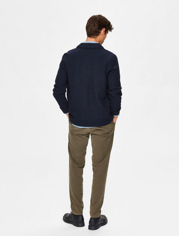 selected homme • wollcardigan