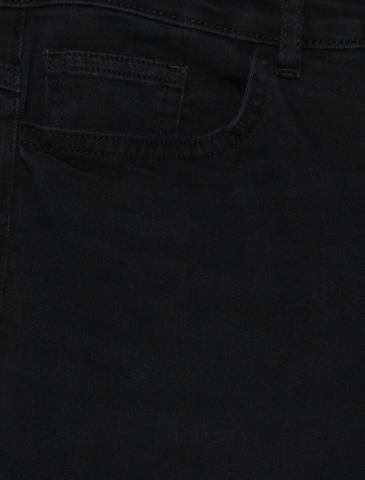 ichi • mid waist jeans • washed black