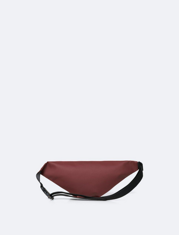 rains • bum bag • maroon