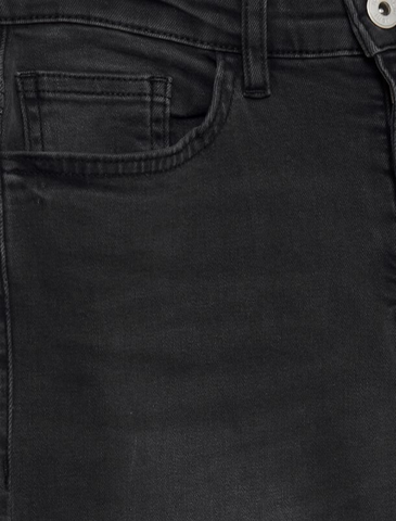 ichi • mid waist jeans • washed grey