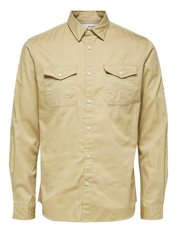selected homme • safari-hemd