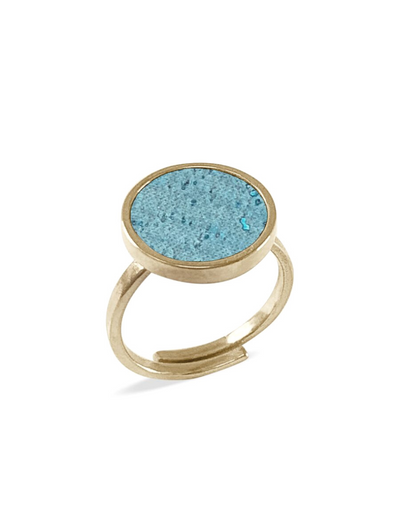 kaalee • ring rund • turquoise