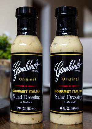 Gambino's Original Gourmet Italian Dressing (pack of 12)
