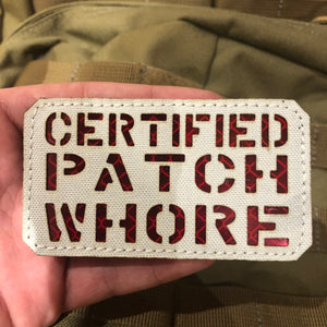 Invictus Certified Patch (MCALPINE/RED)