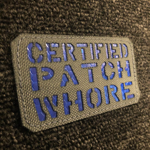 Invictus Certified Patch (GREY/BLUE)