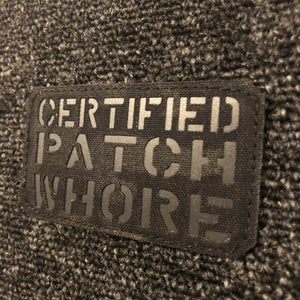Invictus Certified Patch (MCBLACK/BLACK)
