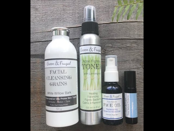 Natural, Affordable & Effective Acne Treatment Regimen