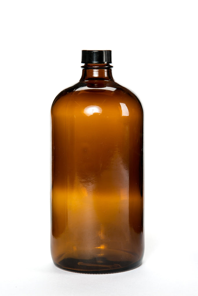 1L Amber Glass Bottle