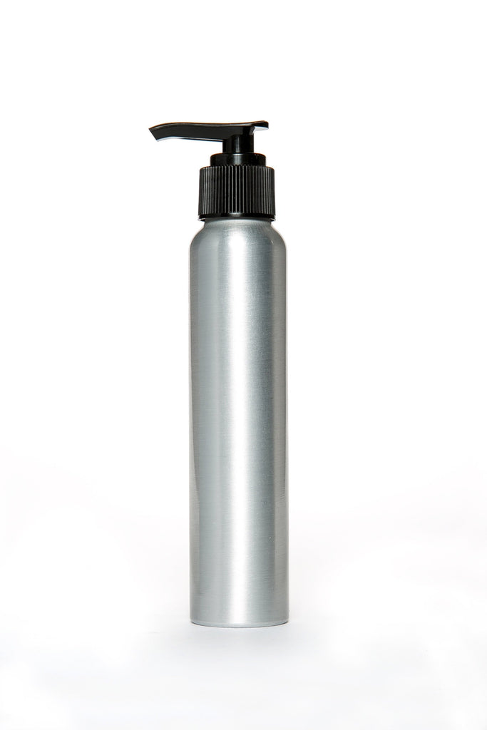 Aluminum Pump Bottle 120ml