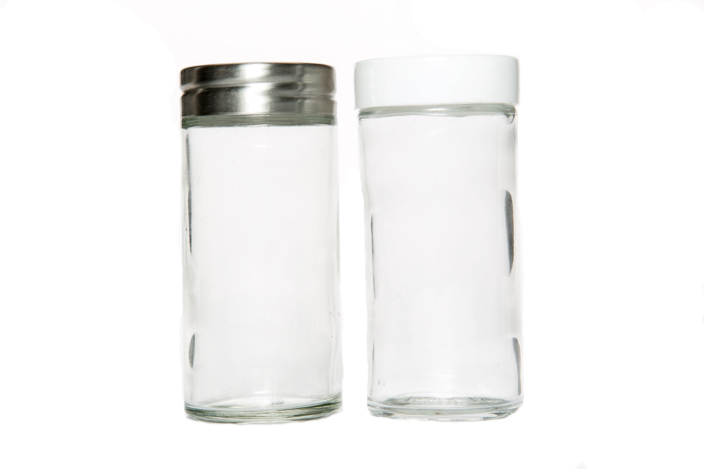 Glass Shaker Jar