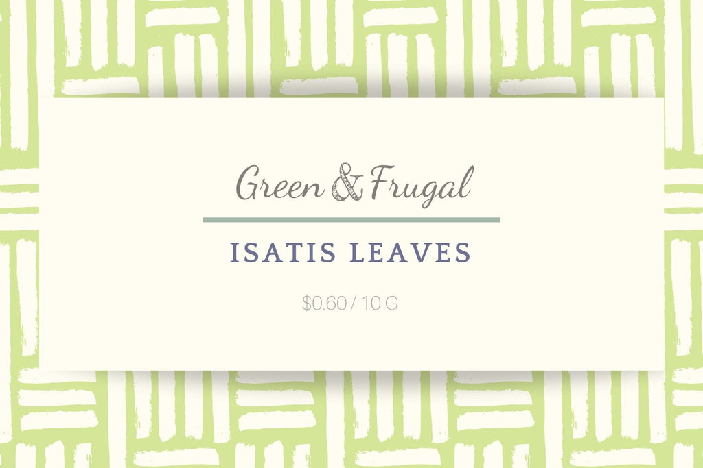 Isatis Leaves