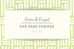 Oak Bark Powder