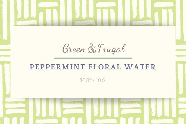 Peppermint Floral Water
