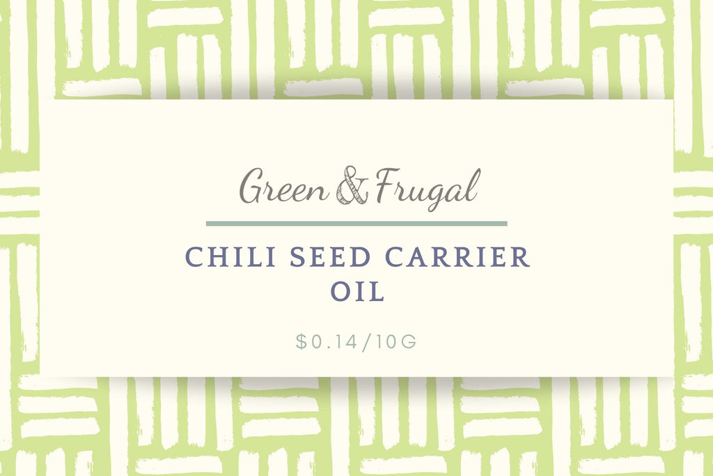 Chili Seed Carrier Oil