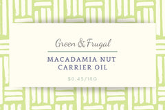 Macadamia Nut Carrier Oil