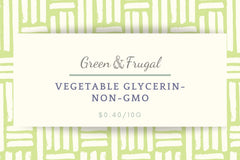Vegetable Glycerin, Non-GMO