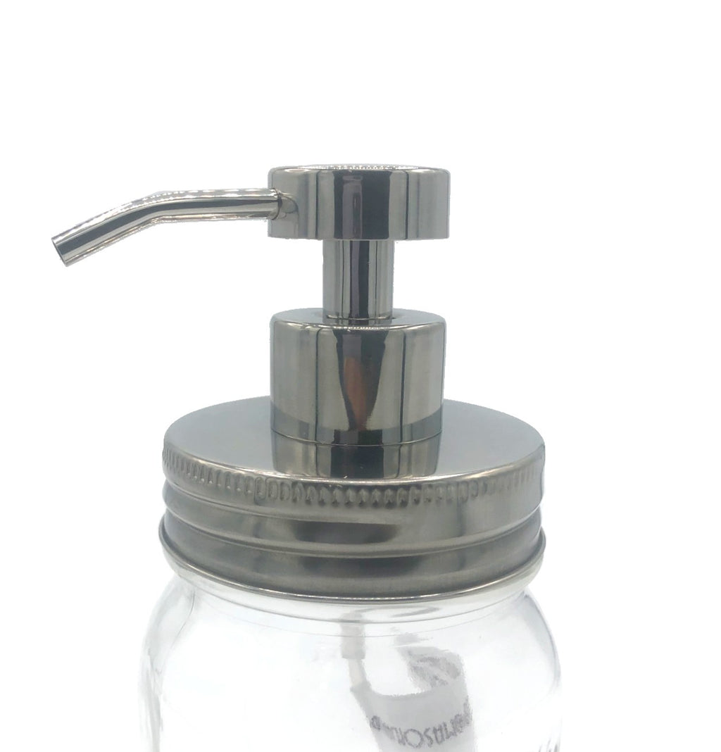 Stainless Steel Pump Attachment - Foaming