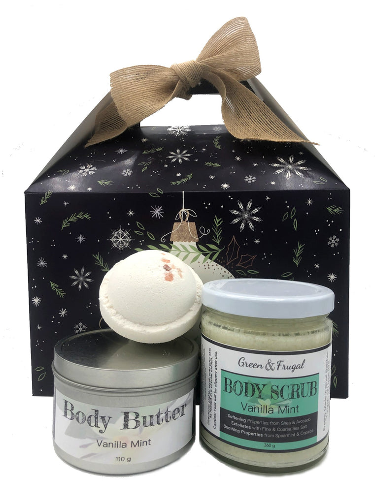 Large Vanilla Mint Gift Set