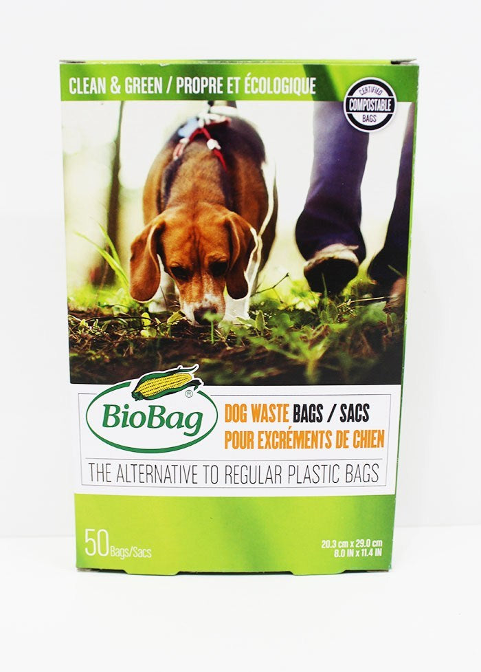 Dog Waste Bags, Biodegradable