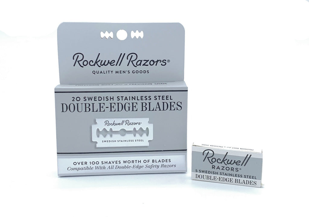 Stainless Steel Double-Edge Blades, Rockwell Razor