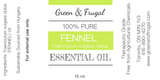 Fennel, Sweet Essential Oil