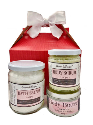 Large Happy Gift Set with Salts