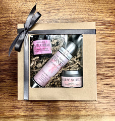 Gift set - face cream, toner, scrub