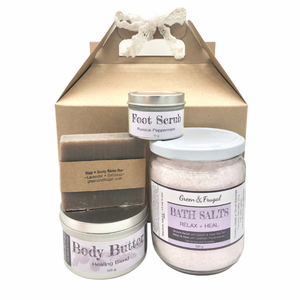 Mothers Day Gift Set Natural Ecofriendly Plastic-free zero waste