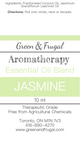 10ml Jasmine Rollerball Blend - Wholesale