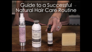 Guide to Switching to a Truly Natural Hair Care Routine (Free Video in Description)