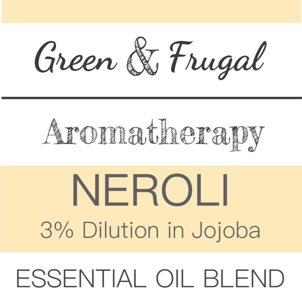 Neroli (3% Dilution in Jojoba) Essential Oil