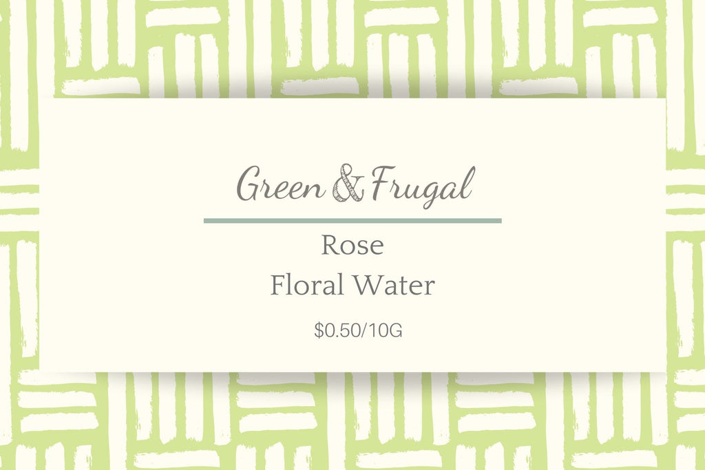 Rose Floral Water