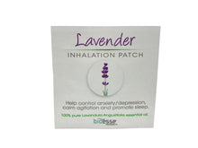 Load image into Gallery viewer, Lavender Inhalation Patch