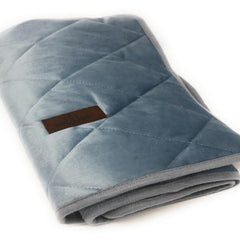 Ice Blue Velvet Blanket