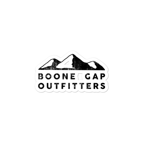 BOONE GAP OUTFITTERS STICKER
