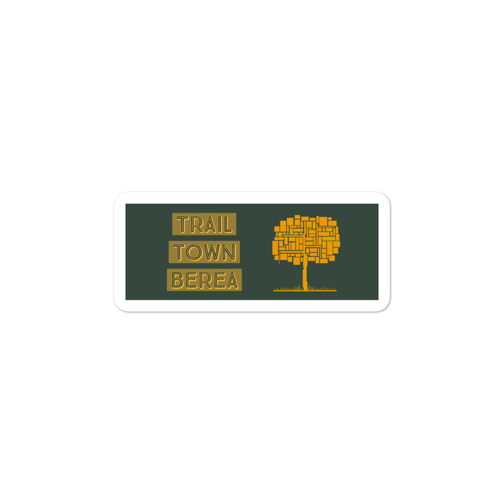 TRAIL TOWN BEREA - TREE STICKER